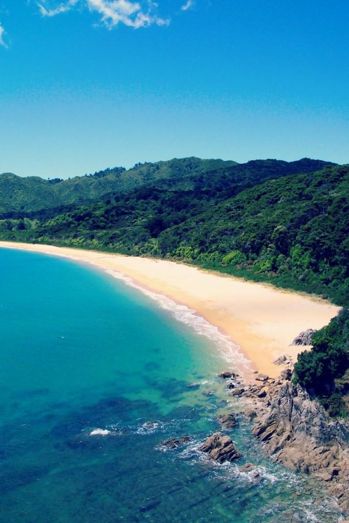 Le parc national Abel Tasman en Nouvelle-Zélande regorge de merveilles !